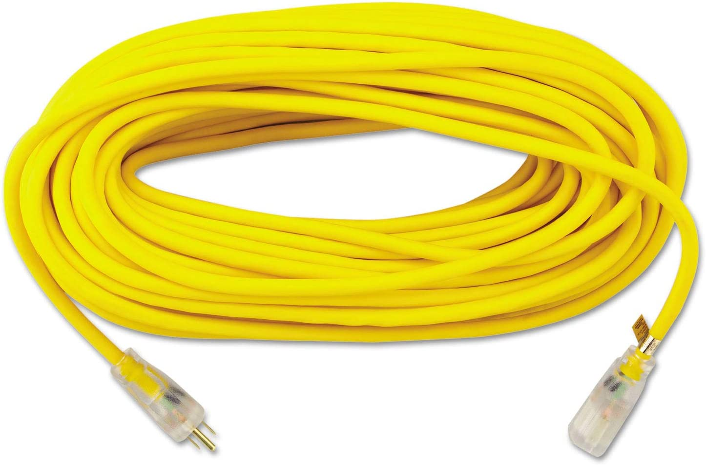 Coleman Cable 1489SW0002 100' 14 All-Weather Gauge Exte Cheap discount SALE Start 3 Yellow