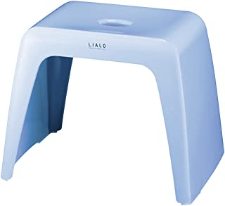 アスベル 風呂椅子 リアロ 高さ30cm Ag 抗菌 ブルー