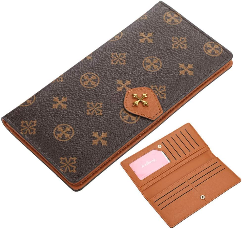 Strimm Choice Leather Checkbook Card Wallet Ladies Women Selling Cover for Clut