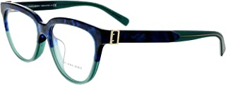 Burberry Women's BE2268F Eyeglasses Blue Havana/Green 53mm