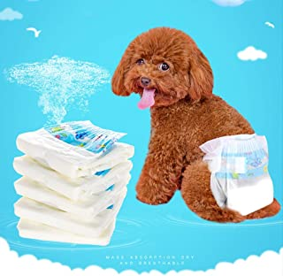 LUGEUK Dogs Diapers Physiological Pants Sanitary Napkins Menstrual Pants Pets Bitches Special Diapers
