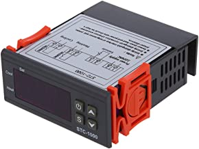 REFURBISHHOUSE 220V Digital STC-1000 Controlador de temperatura Regulador del termostato + Sonda de Sensor