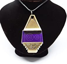 Decalism Metal Digimon Tag with Crest of Knowledge