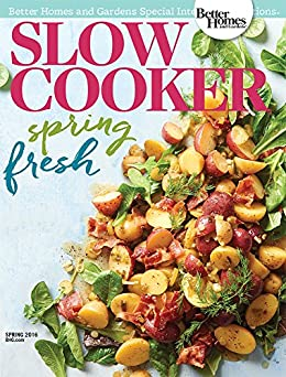 Slow Cooker: Spring Fresh 2016 by [Better Homes and Gardens]