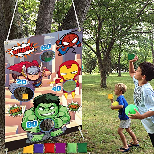 Huoety Superhero Themed Toss Games …