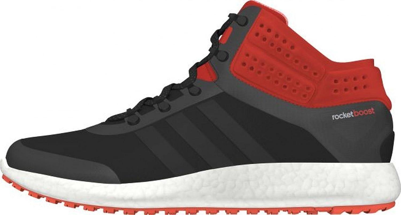 Adidas Performance CLIMAHEAT ROCKET BOOST MID CUT Black orange Men Sneakers shoes