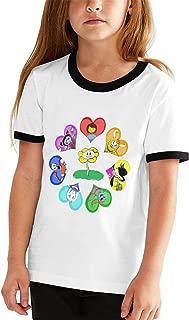 Customized Undertale (11) Shirt O-Neck for Girls' Black