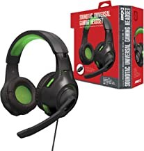 """Armor3 """"Soundtac"""" Universal Gaming Headset (Green) for Xbox Series X/ Xbox Series S/ Nintendo Switch/ Lite/ PS4/ PS5/ Xbox..."""