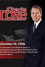 Charlie Rose November 30, 1998