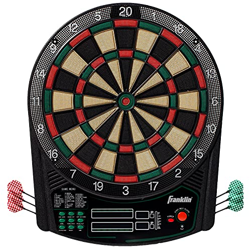 Franklin Sports Electronic Dartboard Set - Digital...