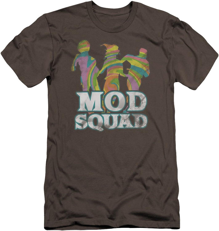 Mod Squad  Mens Run Groovy Premium Slim Fit TShirt