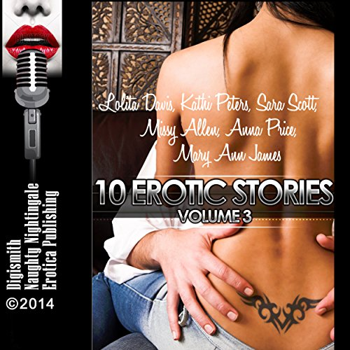 10 Erotic Stories, Volume 3 audiobook cover art