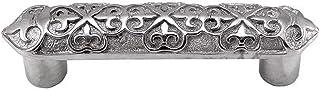 Vicenza Designs P1300 Fleur de Lis 3-Inch Pull, Polished Silver