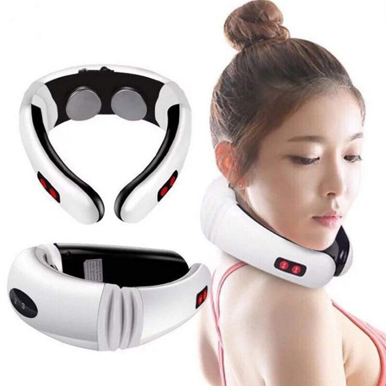 経験幻滅ヘッジWireless Massager, Electric Pulse Cervical Massager, For Neck Body Shoulder Relax Massage, Muscle Pain Relief,battery