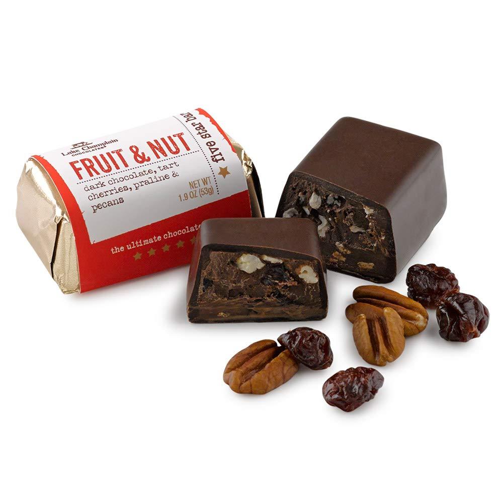 Spasm price LAKE CHAMPLAIN CHOCOLATES 5 Star Fruit Bar And Nut Sale item OZ 1.9