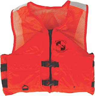 Stearns Work Zone Gear Life Vest - Orange - XX-Large