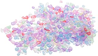 sharprepublic クリスタルサンド カラーサンド 彩り石 水槽用飾り石 観賞 クリスタル石 底砂 色付き砂 約20g