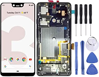 SHUHAN LCD Screen Phone Repair Part LCD Screen and Digitizer Full Assembly with Frame for Google Pixel 3 XL Mobile Phone A...