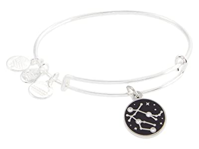 Alex and Ani Color Infusion Gemini Bangle Bracelet (Shiny Silver) Bracelet
