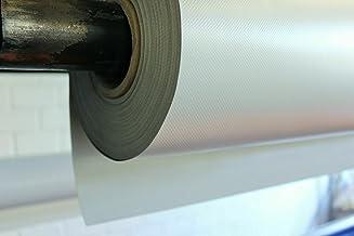 Vrachtwagenzeil 700 g (5,00 m x 2,50 m, agaatgrijs) PVC zeil, afdekzeil, meterware, zeer hoogwaardig, aan beide zijden gel...