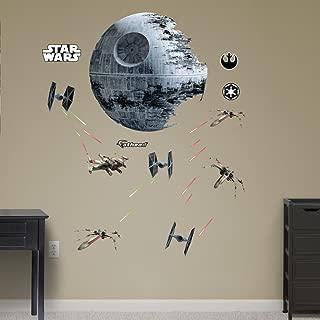 Fathead Star Wars Death Star Battle Real Big Wall Decal