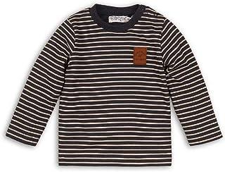 ggudd Ragazzi A Righe Manica Lunga Maglietta Elastico Top Abbigliamento per 2-7 Anni