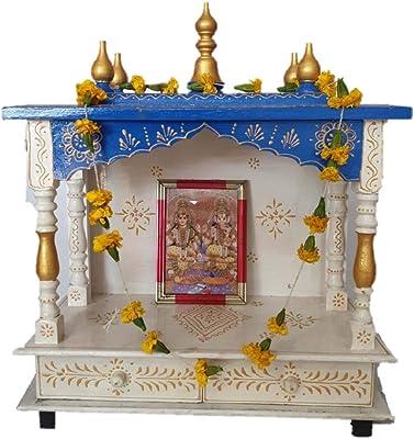 Amazon com: Home Temple/ Mandap/ Wooden Temple / Pooja Temple: Home