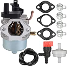 Kaymon 801396 801233 38518 Carburetor Fuel Filter Kit for Briggs & Stratton 801255 Toro Power Clear R-TEK 2 Cycle 38610 38611 38581 38582 38583 38584 38535 38536 Snowthrower Engine
