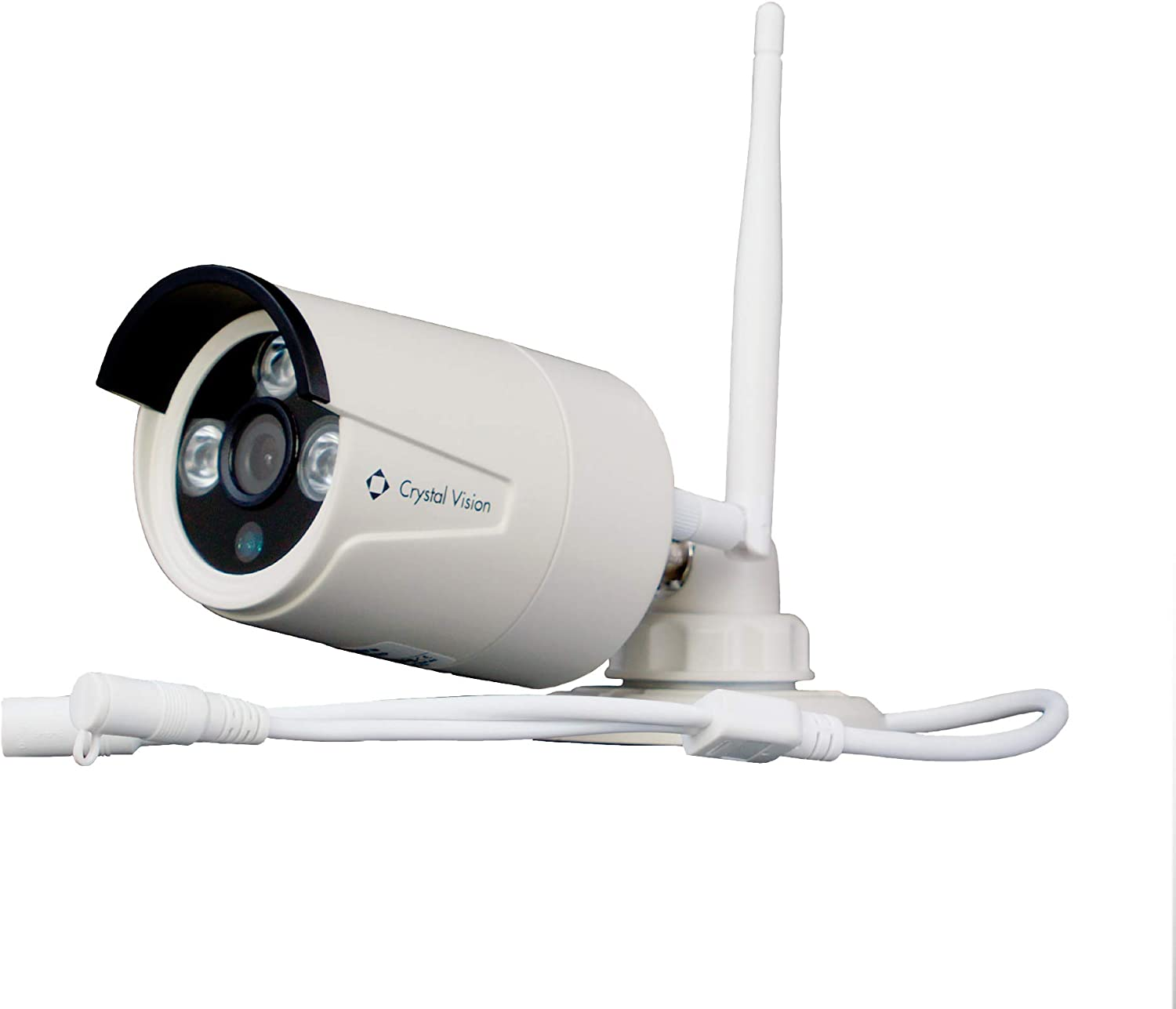 Crystal Vision CVT-3010W 720P Camera Wireless 公式ショップ Replacement Add-on 購入