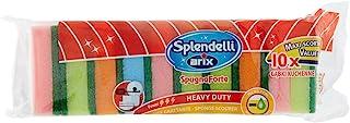 ARIX Splendelli Sponge Scourer, 10 Piece, Multicolor