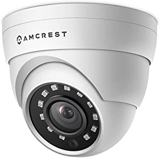 Amcrest UltraHD 4MP HD-Analog Dome Outdoor Security Camera, 4MP 2688x1520, 65ft Night Vision, IP67 Weatherproof Metal Hous...