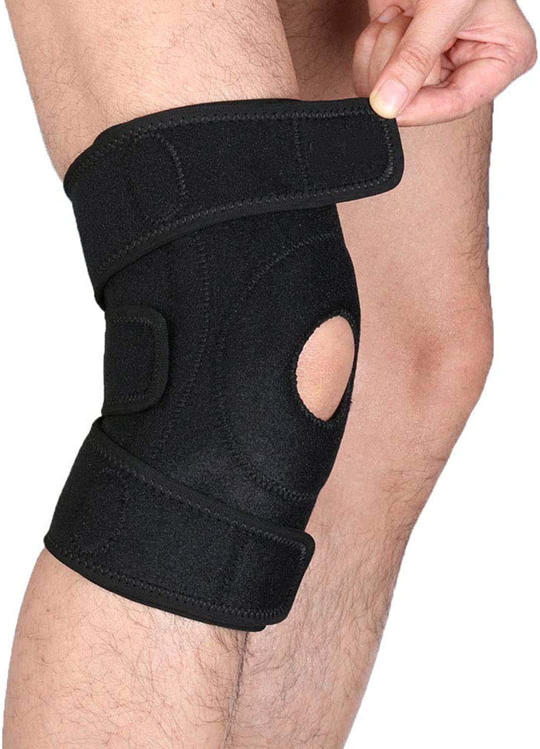 Myzixuan Widening Breathable Exercise Knee Predection Knee pad AntiSlip to Avoid Collision Knee Sleeve Gift