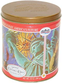 Vintage Trail's End Gourmet Caramel Corn Popcorn Tin Boy Scouts Canister