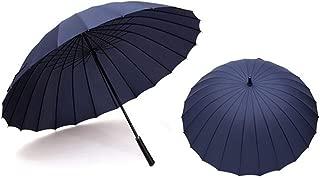 24 The Bone Pure Color Umbrella Durable Sunny Umbrella Portable Rain Gear,6