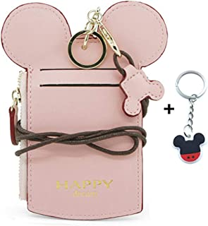 mickey and minnie love story wallet