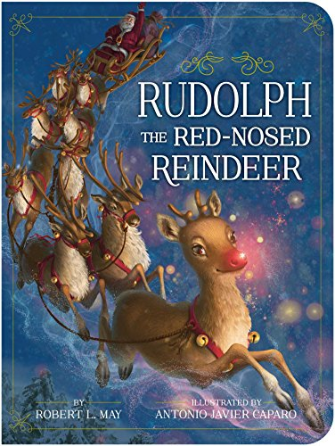 Rudolph the Red-Nosed Reindeer (Classic Board Books) (English Edition)