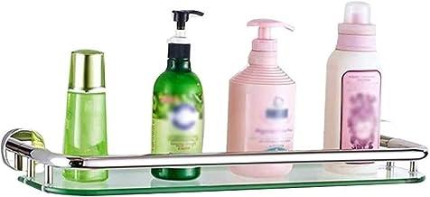 Badkamerplank, ponsvrij 304 roestvrij staal, enkellaags badkamerplankopslag Cosmetisch rek voor badkamerrek voor wandmonta...