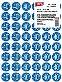 AGIPA Pochette de 192 pastilles Remises -40 % Diam 24 mm Bleu