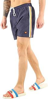 ellesse Salerno Swim Men's Shorts Black with Stripes