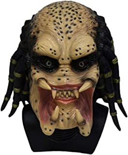 Horror Hallowee Mask Zombie Ghost Mask Creepy Adult Latex Rubber Costume Realistic Scary Halloween Mask, One Size