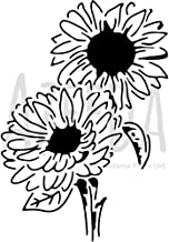 A4 'Lovely Sunflowers' Wall Stencil / Template (WS00026755)