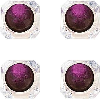 Hapae 4PC Professional Smokey Eye Shadows Multi-Chrome Light