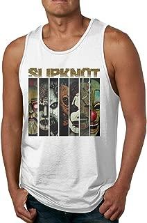 Slipknot Masks Skull Mens Sleeveless Garment Tank Top Shirt Black