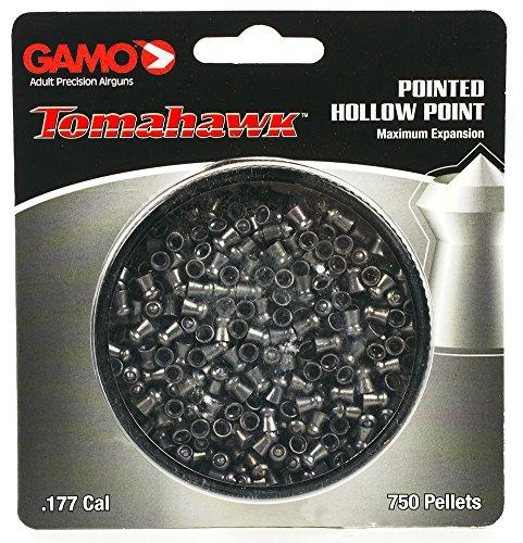 Gamo Tomahawk .177 Cal, 7.8 Grains, Pointed, 750ct