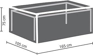 Perel Garden OCT160 Protective Cover for Garden Table Maximum 160 cm Anthracite 165 x 105 x 75 cm