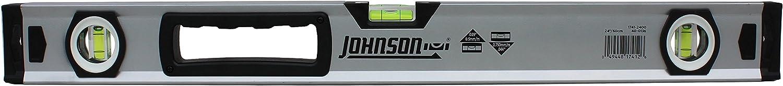 Johnson Level /& Tool 1741-2400 Aluminum Box Level 24