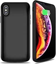 ALCLAP iPhone X/XS Battery Case, 6000mAh Rechargeable Charger Case Portable Charging Case Compatible iPhone X/XS (5.8 inch) Extended Case Battery with Sync Through Technology