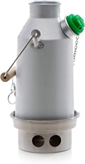 Kelly Kettle Camp Stove Anodized Aluminum - Boils Water Within Minutes, Uses Natural Fuel, and Enables You to Rehydrate Food or Cook a Meal