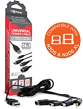 Tomee Universal Power Cable for New 2DS XL/ New 3DS/ New 3DS XL/ 2DS/ 3DS XL/ 3DS/ DSi XL/ DSi/ DS Lite/ DS/ GBA SP/ PSP 3000/ PSP 2000/ PSP 1000