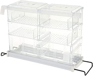 Flameer Aquarium Water Storage Filter Fish Tank Upper External Filter Trickle Box